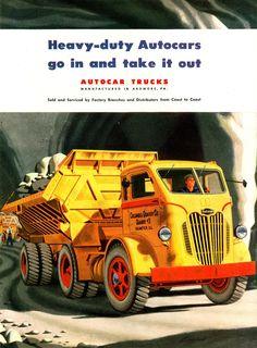 1948 Autocar C.O.E. Quarry Truck