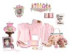 """""""CoverGirl Spellbound Pink Romantic Rose"""" by dreamgirldesign ❤ liked on Polyvore featuring beauty, Abercrombie & Fitch, Le Kilt, Prada, Clarks, Kate Spade, Once Upon a Time, Universal Lighting and Decor, La Perla and Nouv-Elle"""
