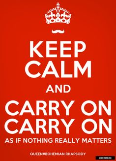Carry On, Carry On