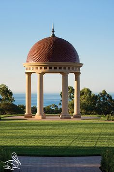 "A couple strolled to the Rotunda during their stay and started  planning for their wedding and future. They looked up the sky and a sky writer had just finished writing the word ""love"" above the Rotunda. The timing couldn't have been more perfect. 