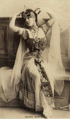 2e8565f2e Circa 1900 Style Oriental, Oriental Fashion, Belly Dance Costumes,  Burlesque Costumes, Belly