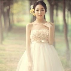 Online Shop Free Shipping Autumn -summer New 2014 Fashion Woman High Quality Sex Tube Top Bride Wedding Dress|Aliexpress Mobile