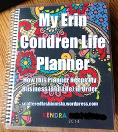 $10 off link in this post. How I use my Erin Condren Life Planner to organize my direct sales business and the rest of my life. I love this planner! #erincondren #lifeplanner2014 #directsales
