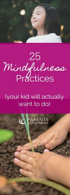 Mindfulness = A powerful tool for your child's well-being. #mindfulness #positiveparenting #emotionalintelligence