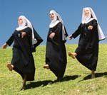 Dancing nuns