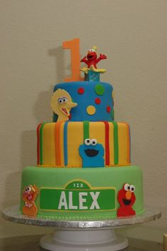 Seasame Street Cakes - Kidz Cakes & Party's Too!!!!