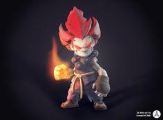 Street Fighter - Akuma Chibi 3D by adsontaicho on deviantART