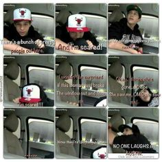 I loved this Austream SO much! it is not safe for Austin to sit in the car alone any way!!!! lol