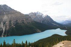 """Peyto Lake: """"Words Cannot Describe! More Beautiful than Lake Louise"""""""