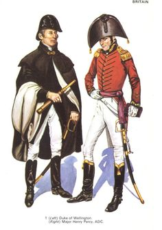 Wellington and Major Percy