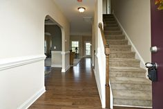 Premier new home builder in the Raleigh, NC area. Known for our state-of-the-art design center and advanced home technologies. We have Homes that Move You! Hardwood Floors, Flooring, Home Technology, New Home Builders, Back Patio, Stainless Steel Appliances, Granite Countertops, Backsplash, Laundry Room