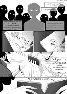 Bloody Painter story Comic-Pag.5 by DeluCat.deviantart.com on @DeviantArt