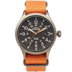 Timex Expedition Scout Watch (Orange)
