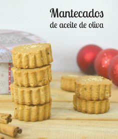 Cuuking! Recetas de cocina: Mantecados de aceite de oliva