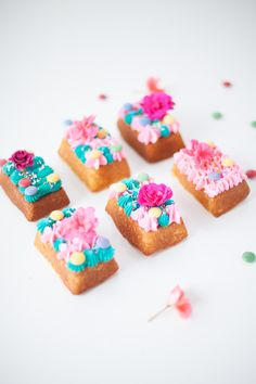 colourful mini party