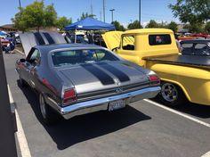 Third Annual Live On, Drive On Car Show. ElDorado Hills, CA.  Chevelle SS
