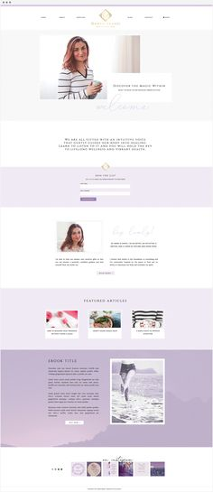 Handcrafting Heartfelt Websites + Branding for Female Creatives | Darya Abassi | by Viva la Violet | Showit | Showit5