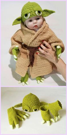 Crochet Yoda Costume Pattern