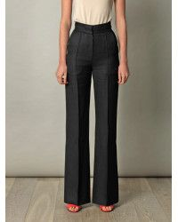Roksanda Marcel Gazar Flared Trousers in Black | Lyst