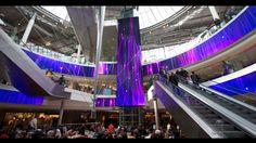 Unibail-Rodamco présente Digital Dream avec movingdesign  - Les 4 temps - Paris La Défense. movingdesign a été choisi par Unibail-Rodamco en...