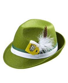 Decorato Cappello Tirolese Oktoberfest Tedesca Costume Accessorio