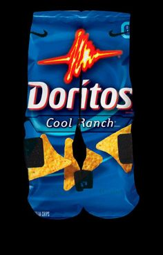 Doritos basketball socks