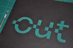 Cut-it-out (Part 1) by Simon C Page, via Behance