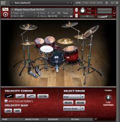 The Kontakt 5 Instrument Kit page