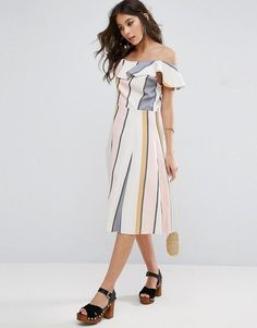 ASOS One Shoulder Ru