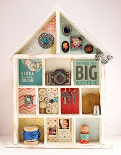 Vintage House Printers Tray from Fynes Designs