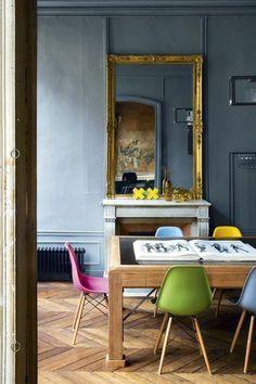 idée déco pas cher appartement, jolie demeure de style baroque