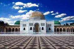 Mausoleum of Habib Bourguiba in Monastir, Tunisia.