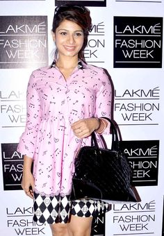 Tanishaa at the 2nd day of the Lakme Fashion Week 2013. #Bollywood #Style #Fashion #LFW