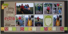 Playtime at the Patch - Club CK - The Online Community and Scrapbook Club from Creating Keepsakes