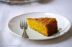 Indian Cuisine: Vegan Mango Cake Recipe ~ Eggless Mango Cake Recipe ~ Step by Step Pictures