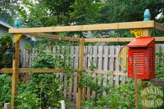 Tomato Trellis !!! Also, Cucumber Trellis, Pea Trellises. EVERYTHING from Gardening Tips, Designs, Companion Planting, Fertilizing, Pest Protection, and MUCH MUCH MORE!