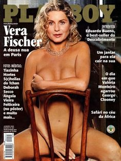 Playboy Brazil January 2000 Cover featured by Vera Fischer