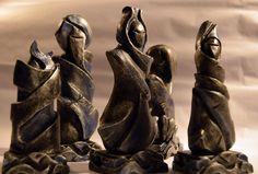 Ottoman chess set by Leila Rangel