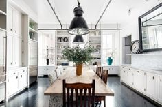 Soho loft kitchen