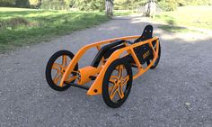 SEON Trike Concept by Luis Alberto Cordoba Dorantes is a small as well as efficient concept transportation designed for urban environments. Trike Bicycle, Recumbent Bicycle, Cool Bicycles, Cool Bikes, Tandem, E Quad, Bike Cart, Electric Trike, Reverse Trike