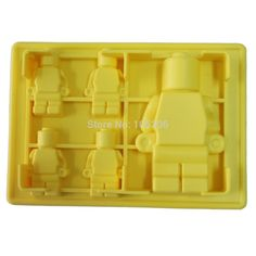 5x Silicone Robot Ice Mold Ice Cream Tools Color Yellow Ice Cream Tubs Silicone Mold Cake Mold Free Shipping-in Ice Cream Tubs from Home & Garden on Aliexpress.com   Alibaba Group