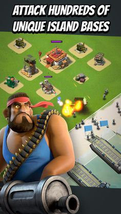 The Clash of Clan sequel, Supercell app Boom Beach is here!