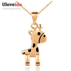 Find More Pendant Necklaces Information about Silver Pendants for Friends Enamel Cute Horse Shape Rose Gold Plated Necklace Fashion Jewelry for Girl Women 2015 Ulove N815,High Quality jewelry supplier,China jewelry magnetic Suppliers, Cheap jewelry cloisonne from Ulovestore Jewelry on Aliexpress.com