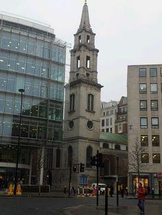 St Vedast Church, Foster Lane, London.-