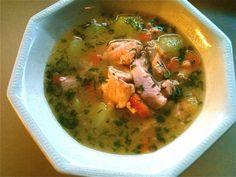 Lohikeitto - Kotikokki.net - reseptit Thai Red Curry, Soup Recipes, Ethnic Recipes