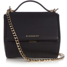 fed18e15445c7d Get the trendiest Cross Body Bag of the season! The Givenchy Pandora Black  Leather Cross Body Bag is a top 10 member favorite on Tradesy.
