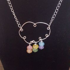 Check out this item in my Etsy shop https://www.etsy.com/uk/listing/464921399/wirework-rainbow-cloud-necklace-gift-for
