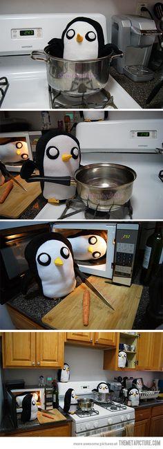 Penguin invasion | TheMetaPicture.com