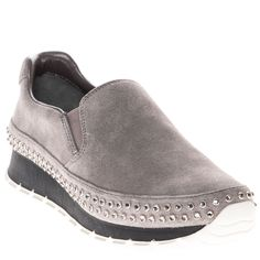 on sale 99de6 22470 These touchable suede slip-on sneakers from Prada are a simplistically  fashionable way to keep