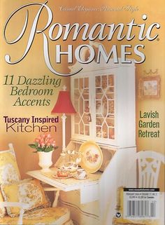 Romantic Homes Magazine Dazzling Bedroom Accents Tuscany Inspired Kitchen
